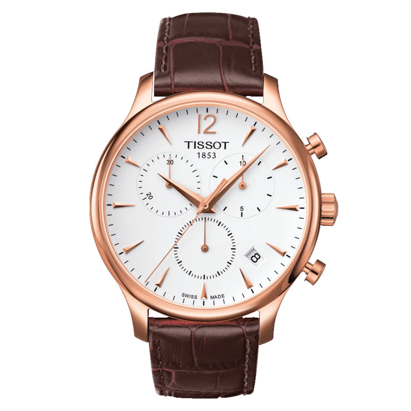 TISSOT TRADITION CHRONOGRAPH T0636173603700 - Vincent Watch