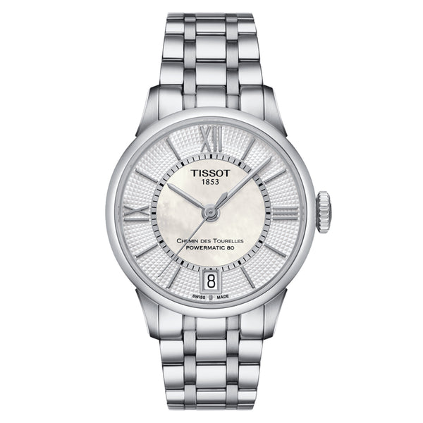 TISSOT CHEMIN DES TOURELLES POWERMATIC 80 LADY T0992071111800 - Vincent Watch
