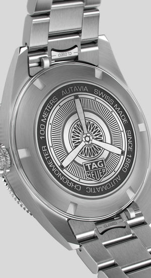 TAG Heuer Autavia Calibre 5 Automatic 42mm Stainless Steel Watch