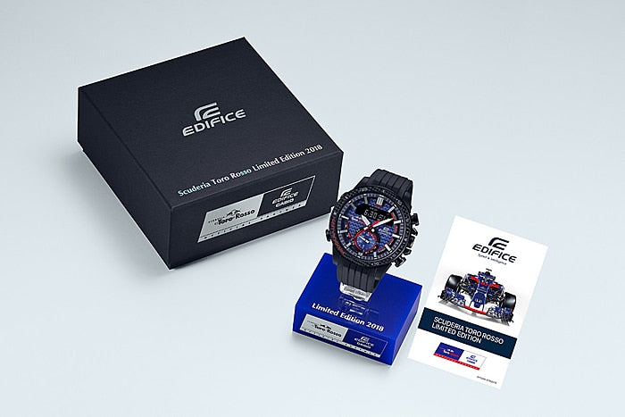 CASIO EDIFICE TORO ROSSO LIMITED EDITION ECB-800TR-2A