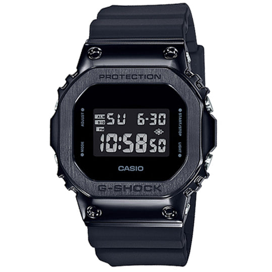CASIO G SHOCK STEEL BEZEL GM-5600B-1DR
