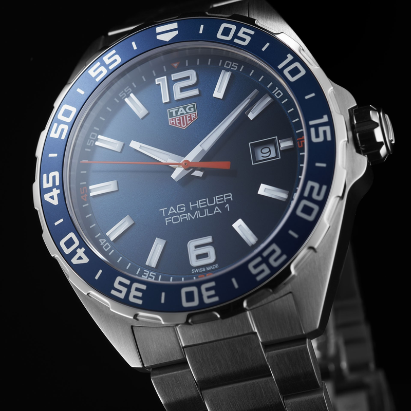 TAG Heuer Formula One Quartz 43mm Stainless Steel Watch