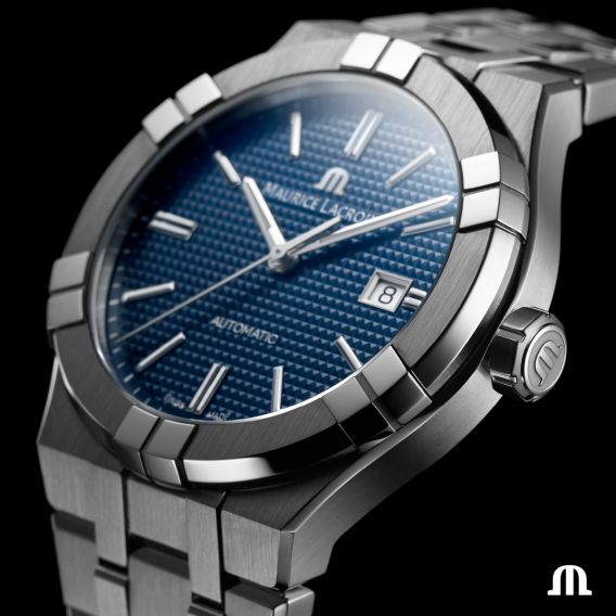 MAURICE LACROIX AIKON AUTOMATIC 42MM AI6008-SS002-430-1