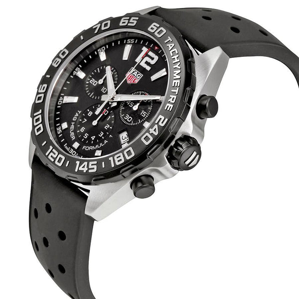 TAG Heuer Formula One Chronograph 43mm Rubber Watch CAZ1010.FT8024