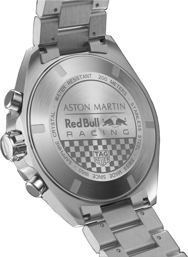 "TAG Heuer Formula One ""Aston Martin RBRT Edition"" Chronograph 43mm Stainless Steel Watch CAZ101AB.BA0842"