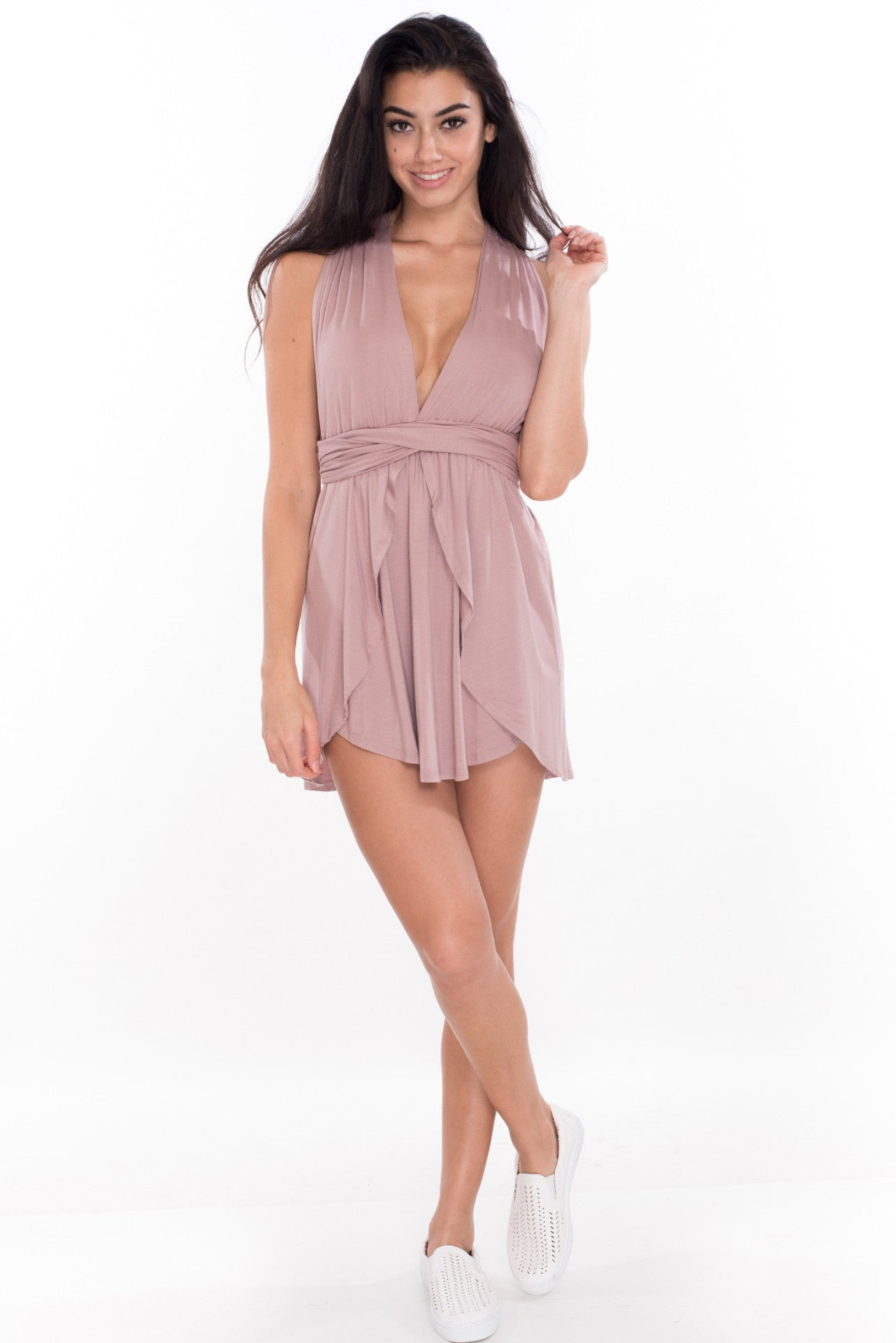 Power of Love Dress - Mauve
