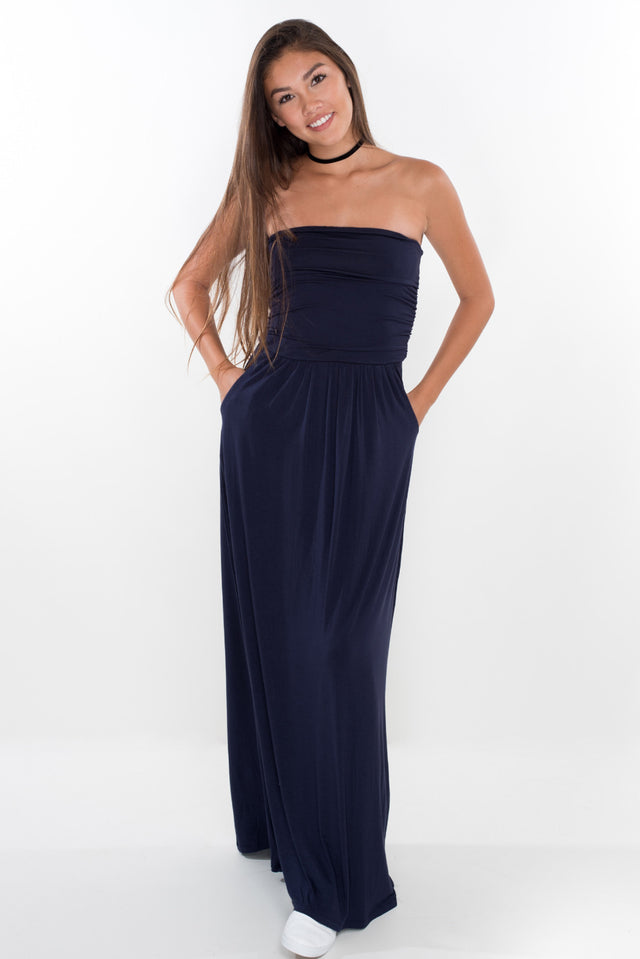 Crazy About You Maxi - Navy