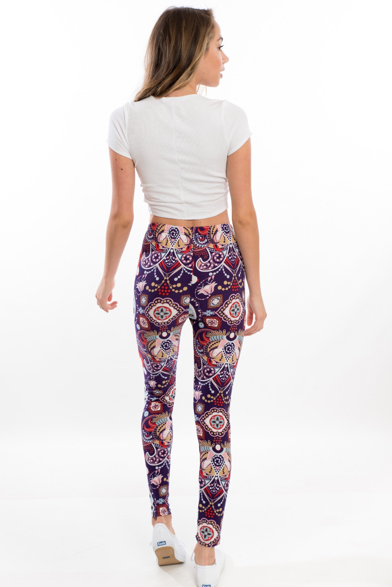 Booty Love Leggings - Purple Kaleidoscope