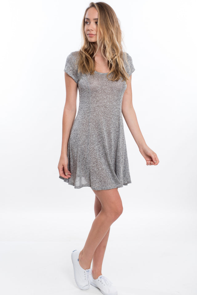 Dance With Me Dress - Heather Gray