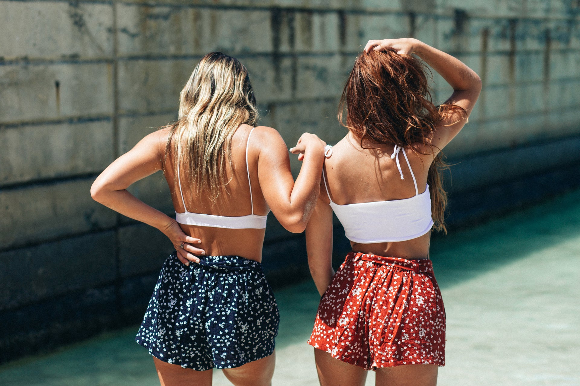 Paperbag Shorts // Navy