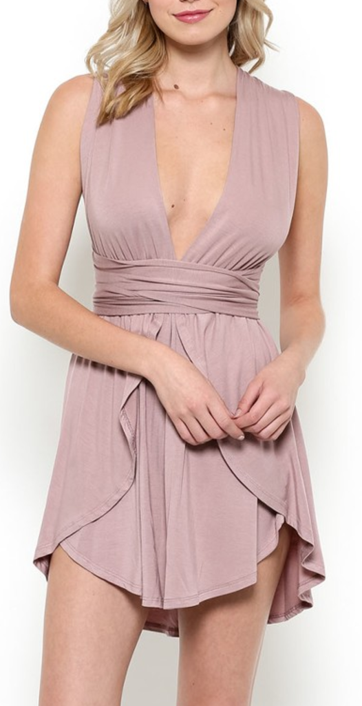 Power of Love Dress // Mauve