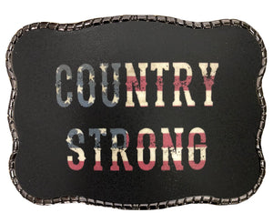 Country Strong Flag Writing