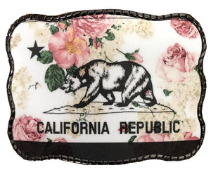 Floral California Flag