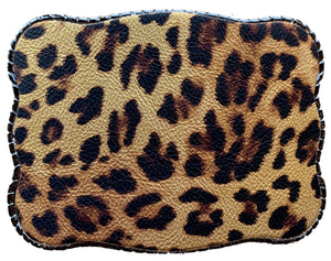 Cheetah Print Leather