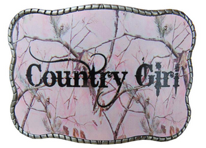 Pink Camo Country Girl