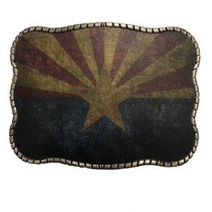 Arizona Flag Rustic
