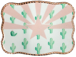 Arizona Cactus Flag