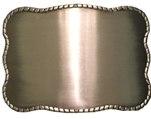 Brushed Metal Blank - Wallet Buckle