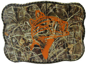Camo Fish - Wallet Buckle