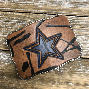 Hand Tooled Leather - Dallas Cowboys
