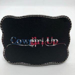 Cowgirl Up Flag