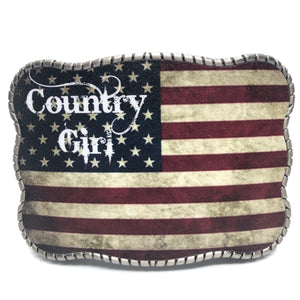 Country Girl American Flag