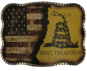 Don't Tread Split Flag Print