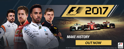 F1 2017 Out Now