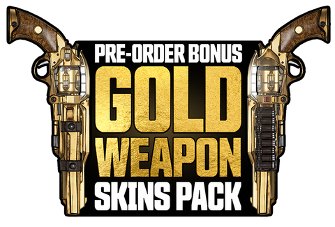 Gold Weapon Skins Pack with all Pre Orders
