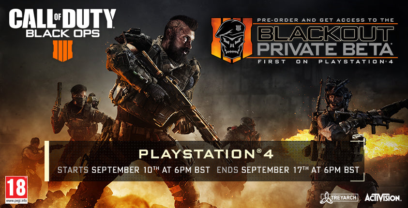 Call of Duty Black Ops 4 Blackout Private Beta