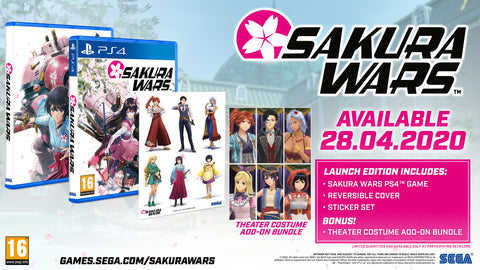 Sakura Wars Launch Edition