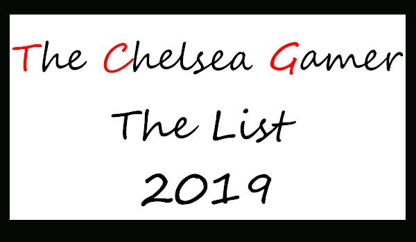 The List 2019 - By TCG