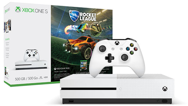 Xbox One S Rocket League Blast-Off Bundle (500GB)