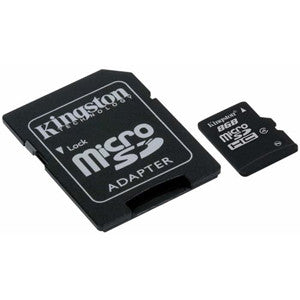 Kingston SDC4/8GB 8 GB microSDHC - Memory by Kingston The Chelsea Gamer