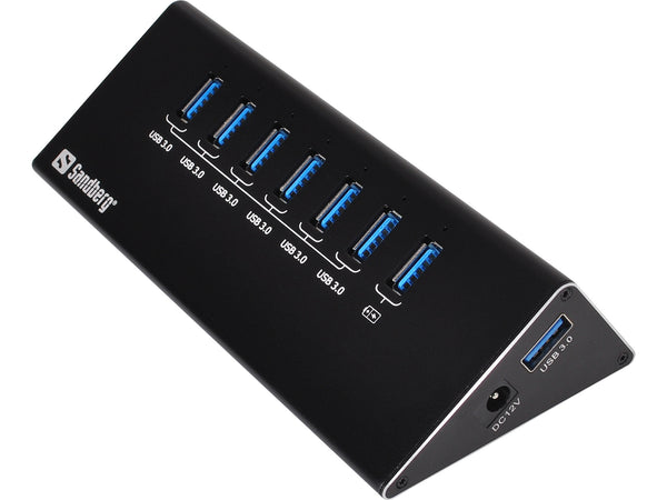 Sandberg USB 3.0 Hub 6+1 ports - Hub by Sandberg The Chelsea Gamer