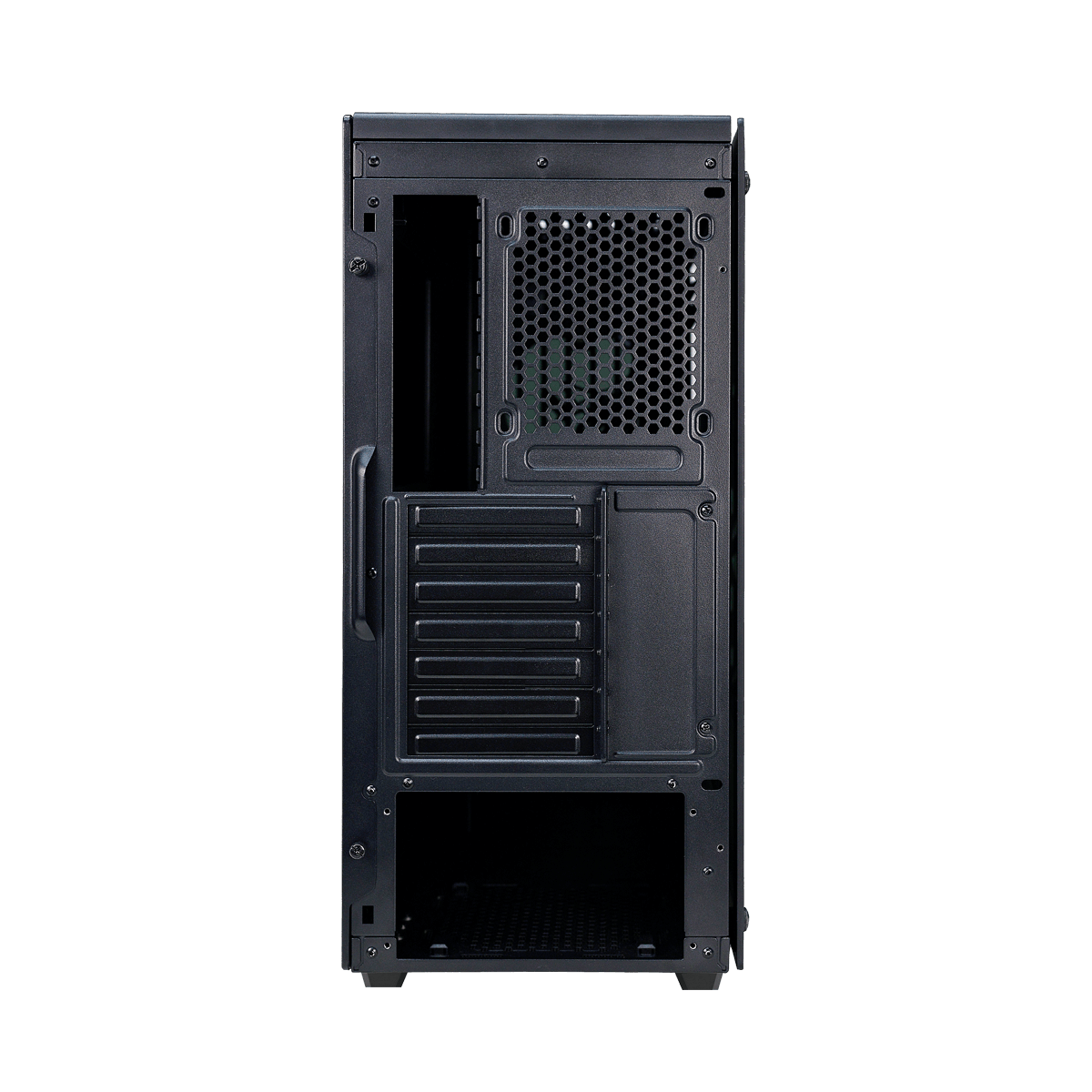 EVGA DG-75 Midi Tower Chassis with Tempered Glass - Matte Black - 150-B0-2020-KR