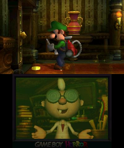 Luigi's Mansion - 3DS