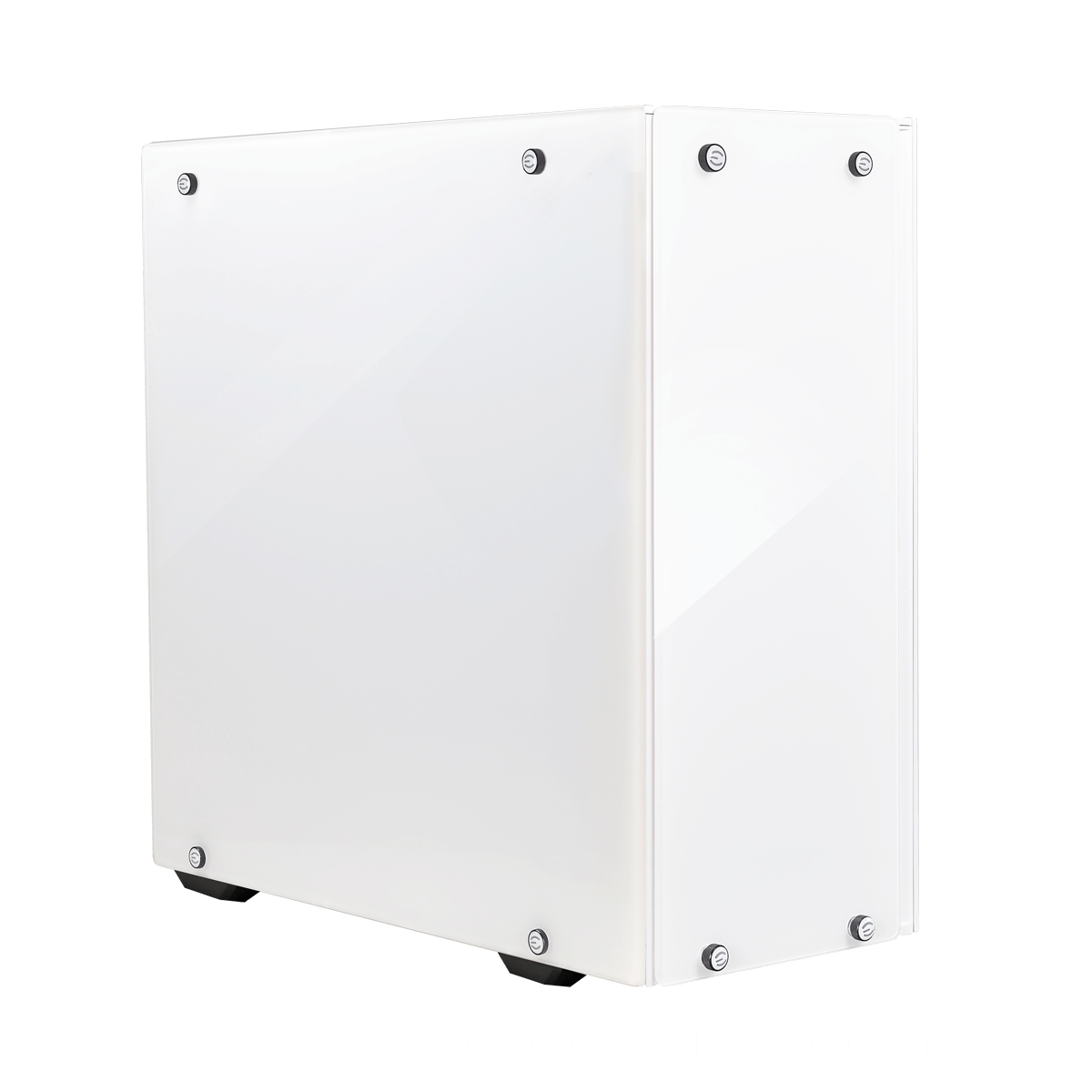 EVGA DG-75 Midi Tower Chassis with Tempered Glass - Alpine White - 150-B0-2020-KR - Core Components by Evga The Chelsea Gamer