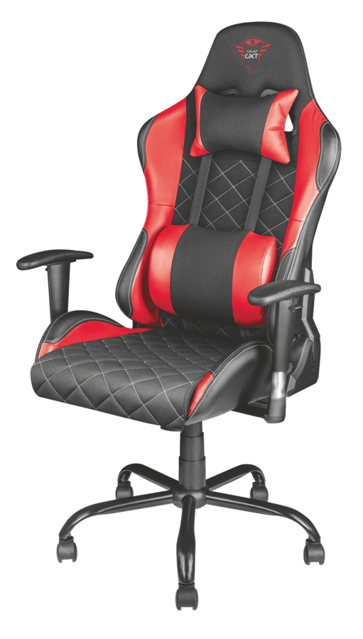 Trust GXT 707R - Resto Gaming Chair - Red - with Far Cry 5