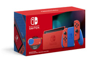 Nintendo Switch: Mario Red & Blue Edition