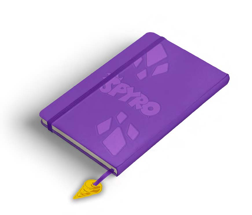 Spyro Face Notebook