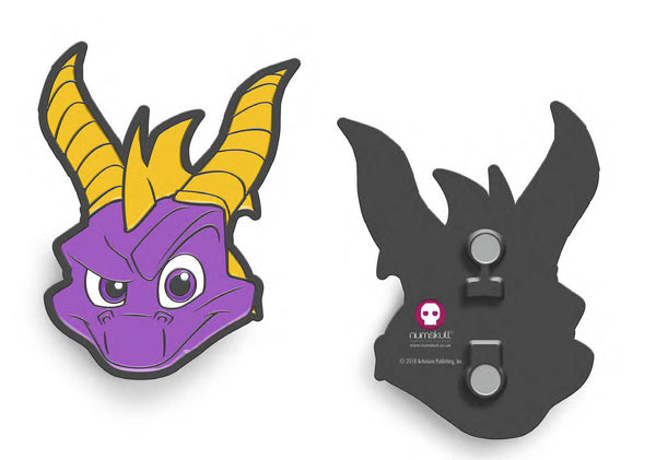 Spyro Face Magnetic Bottle Opener