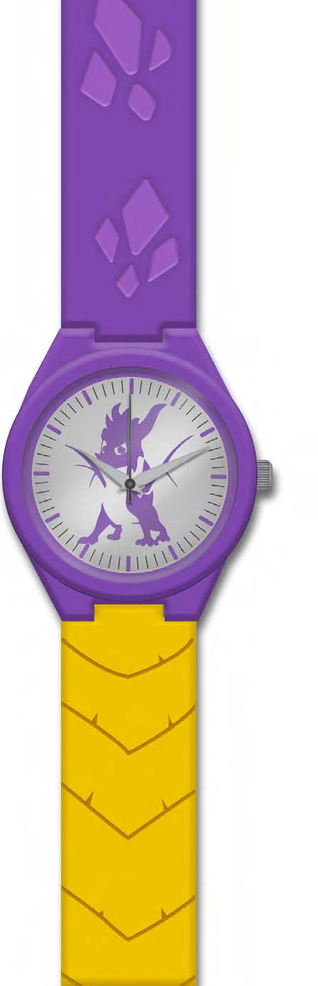 Spyro Metal Face Watch