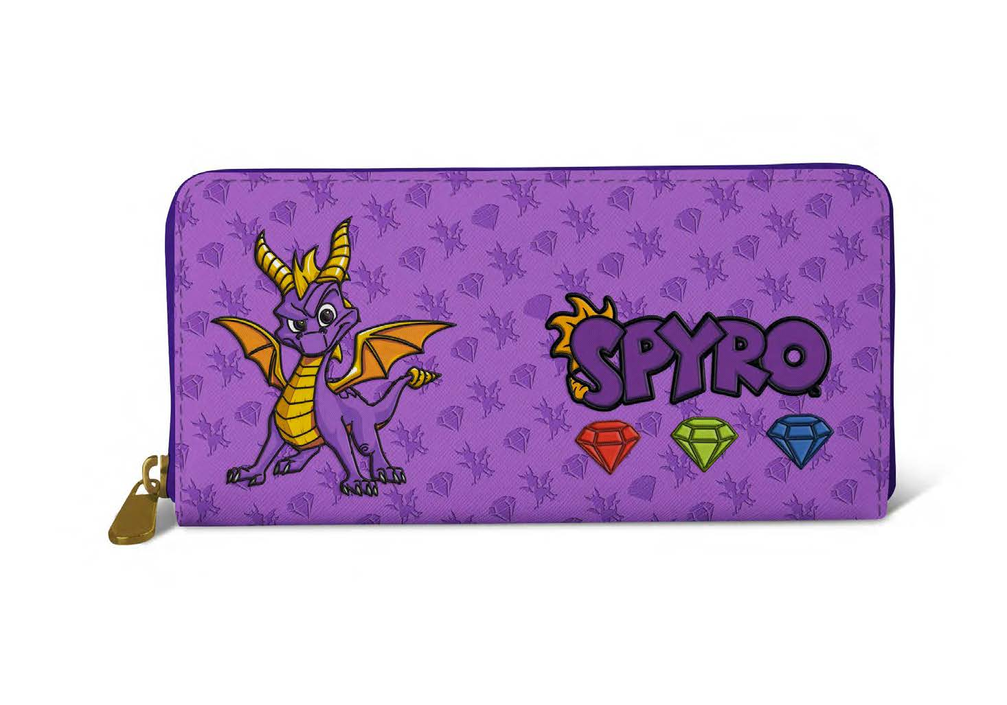Spyro Patch Purse