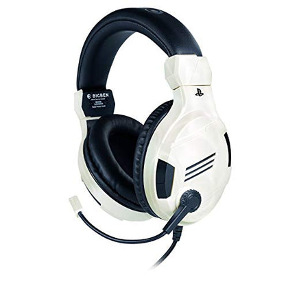 Official Licensed White Stereo Gaming Headset for PlayStation 4