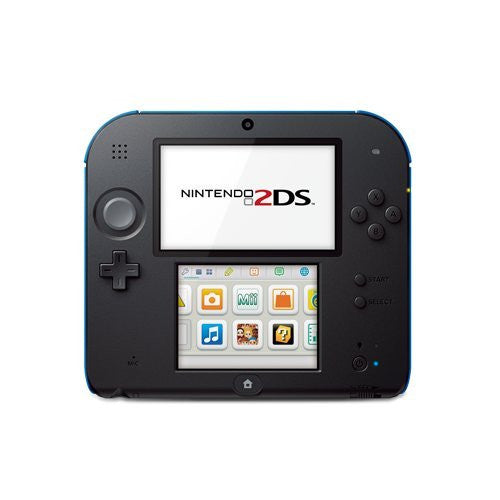 Nintendo Handheld Console 2DS - Black & Blue with pre-installed Mario Kart 7
