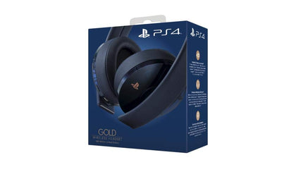 500 Million Limited Edition - Gold and Navy Wireless headset - Console Accessories by Sony The Chelsea Gamer