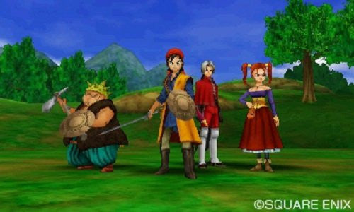 Dragon Quest VIII: Journey of the Cursed King - 3DS - Video Games by Nintendo The Chelsea Gamer