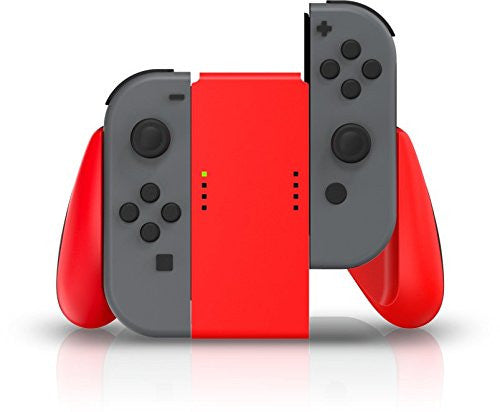 Nintendo Switch Joy-Con Comfort Grip (Red) - Console Accessories by Bensussen Deutsch & Assoc The Chelsea Gamer