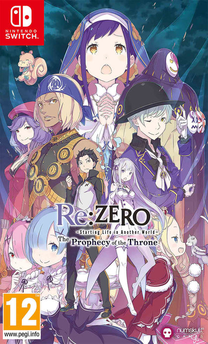 Re:ZERO - The Prophecy of the Throne - Nintendo Switch